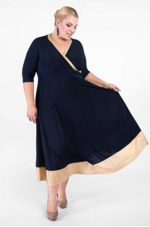 """Платье """"Артесса"""" PP03607DBL61 (Темно-синий)"""