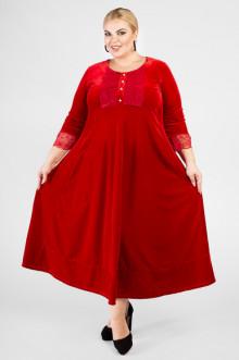 """Платье """"Артесса"""" PP34211RED25 (Красный)"""