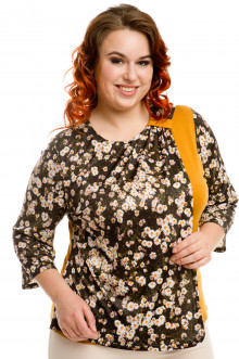 Блузка 477 Luxury Plus (Ромашки)