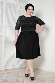 Платье 099201 ЛаТэ (Черный)