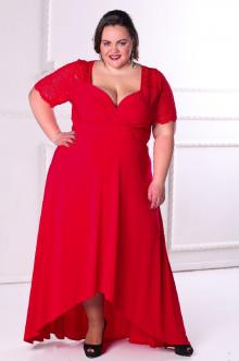 Платье 088803 ЛаТэ (Красный)