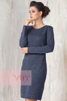 Платье женское 2270 Фемина (Темный джинс)