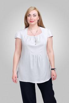 """Блуза """"Олси"""" 1310003.1 ОЛСИ (Жемчужный)"""