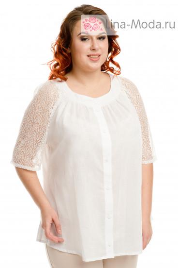 Блузка 336 Luxury Plus (Белый)